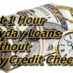 Because of 1 Hour Payday Loans, No Credit Check is necessary to borrow